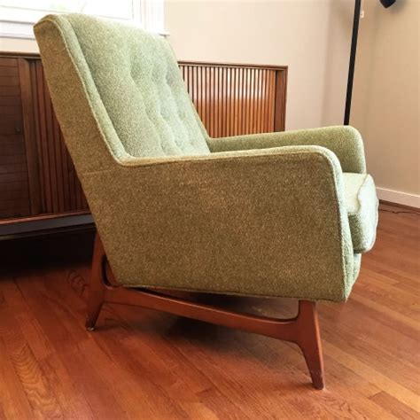 arm chair dining mid century armchair with light green wool upholstery epoch