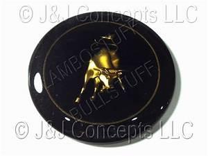 Lamborghini Steering Wheel Badge