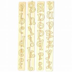 Emporte Piece Lettre : emporte pi ce alphabet lettres minuscules funky ~ Melissatoandfro.com Idées de Décoration