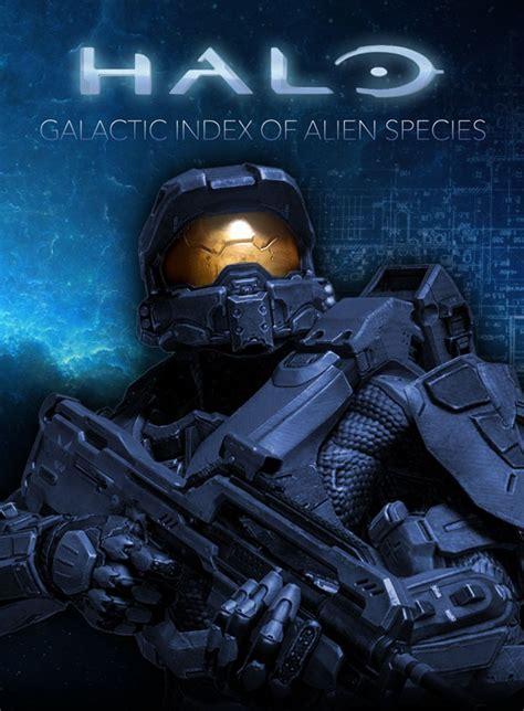 halo index  alien species infographic halloween