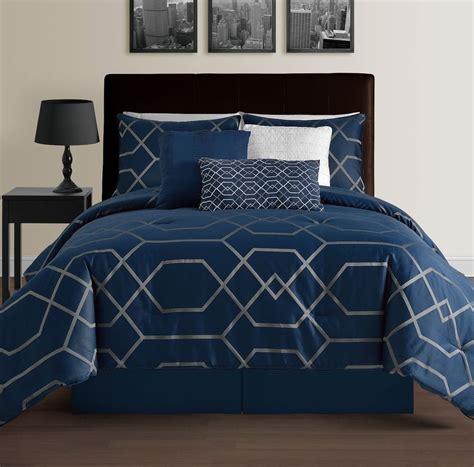 King Bedroom Duvet Sets by Details About 7pc Jacquard Stripes Comforter Set