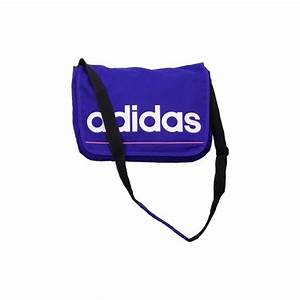 ADIDAS ESSENTIALS LINEAR MESSENGER BAG SCHOOL SPORT CASUAL ...