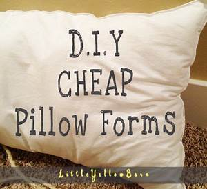 cheap diy pillow forms room decor pinterest With discount pillow forms