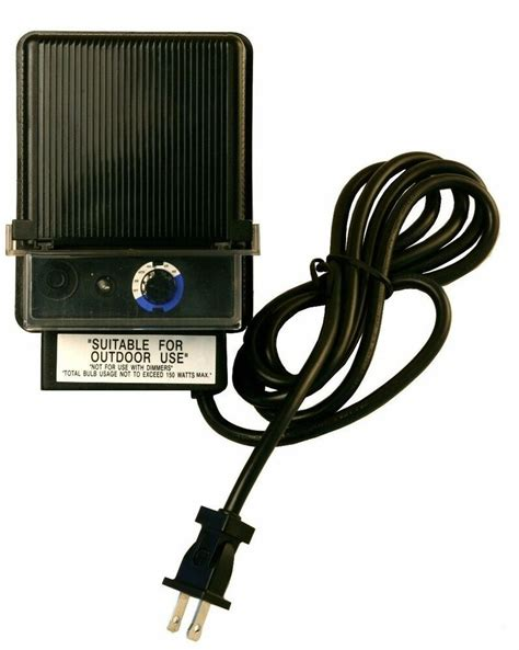 150w Low Voltage Outdoor Landscape Light Transformer Led