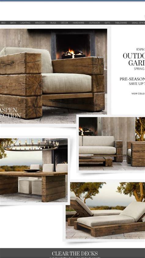 who makes restoration hardware sofas outdoor furniture from restoration hardware but i have a