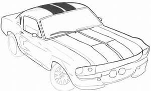 Mustang Gt Drawing At Getdrawings