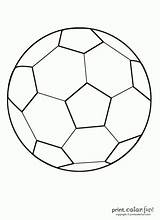 Ball Soccer Coloring Pages Printable Fun Colouring Sports Printables Might Colored sketch template