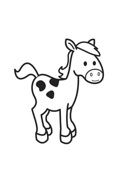 Download nu gratis een kleurplaat van een paard, print ze uit en het kleuren van de kleurplaat kan beginnen! Kleurplaat paard - Afb 18415.