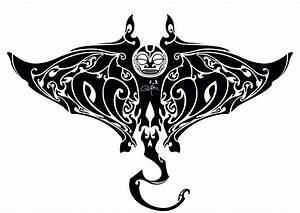 Manta Ray Maori Tattoo by TchokO27 on DeviantArt