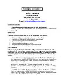 font size resume should be in resume cover letter