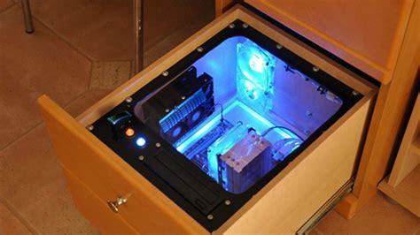 Build A Computer Into Your Desk For Easy Upgrades, Hidden
