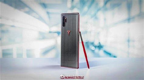 the tesla samsung galaxy note 10 is apparently cnet