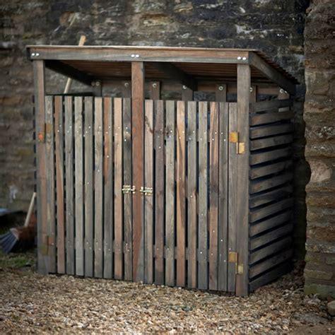 garbage bin storage shed wheelie bin storage shed home storage systems