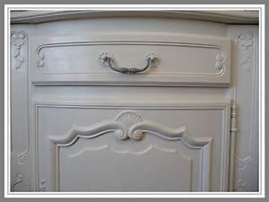 Meuble Repeint En Gris Perle : bahut patine gris perle 5 photo de meubles et patine ~ Dailycaller-alerts.com Idées de Décoration