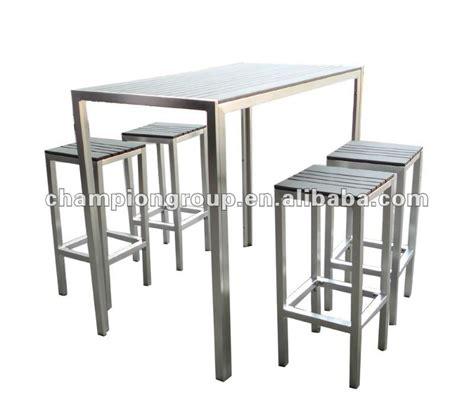 table et chaise restaurant table de bar avec chaise