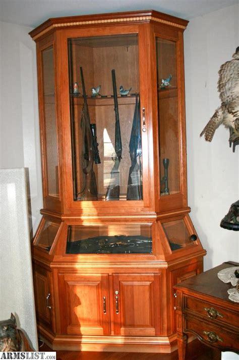 armslist  sale custom gun cabinet
