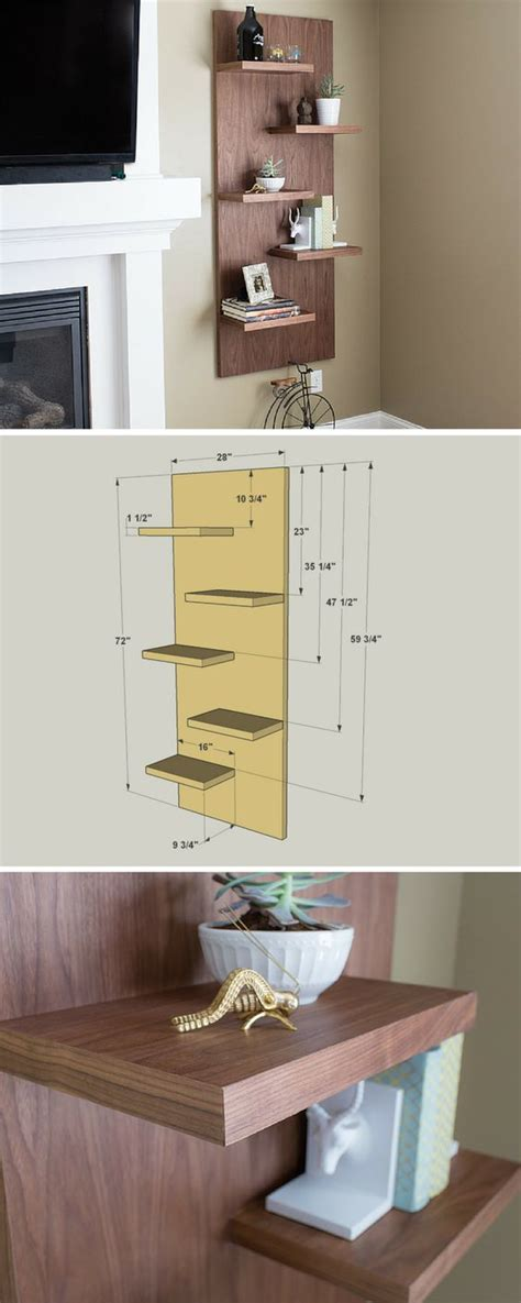 style diy  crafts  shelving  pinterest