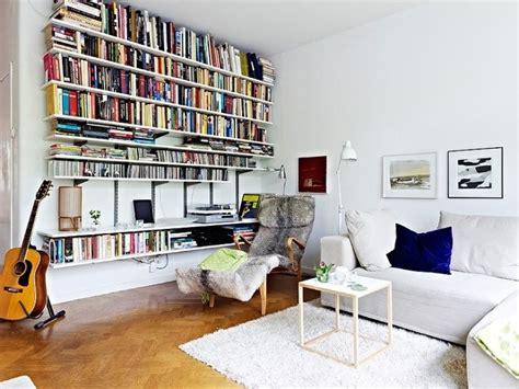 Living Room, Living Room Interior, Home Libraries