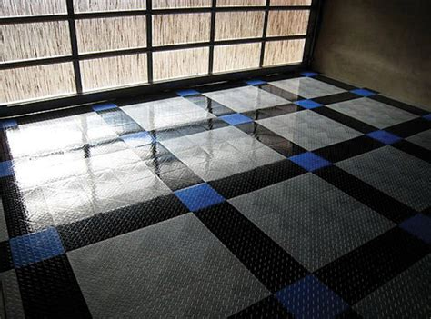 Racedeck Garage Flooring Tiles by Tuffshield Garage Floors Racedeck