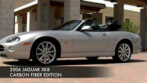 2006 Jaguar Xk8 Convertible Carbon Fiber Edition Community