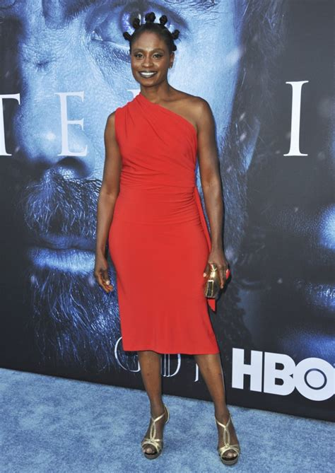 Adina Porter Premiere Game Thrones Season Series