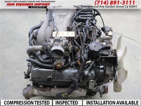 jdm mitsubishi montero sport   sohc  turbo engine