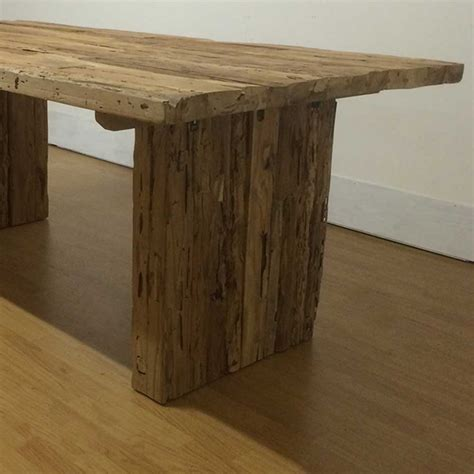 rustic farmhouse dining table tables reclaimed rustic farmhouse teak dining table