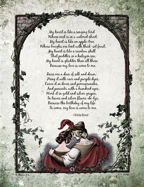 christina rossetti poems christina rossetti romantic