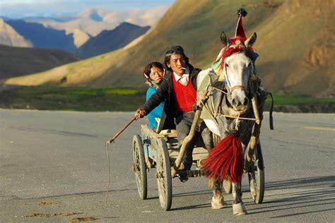 photo gratuite tibet transport paysage image gratuite