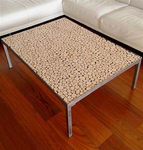 Table Basse Rondin De Bois : table basse design m tal bois d coration steel wood d co ~ Farleysfitness.com Idées de Décoration