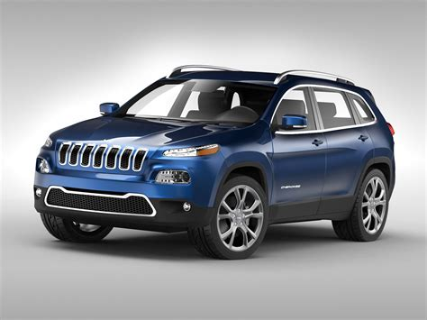jeep models jeep cherokee 2014 3d model max obj 3ds fbx cgtrader com