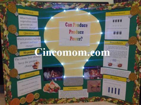 lemon battery science fair project project on a lemon