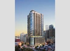 Downtown Fever A Showy New HighRise With Grocery Store