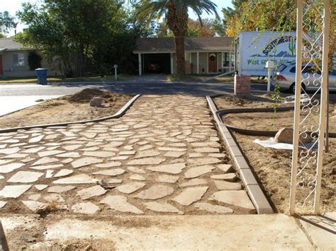 Cheap Driveway - cheap driveway upcyclage in the yard driveways