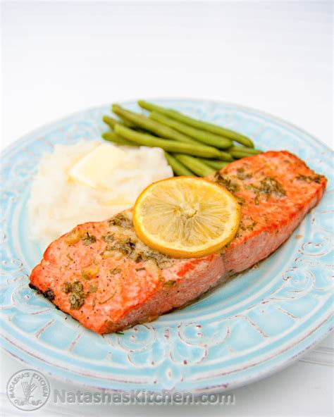 bake salmon baked salmon ii recipe dishmaps