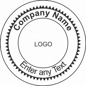 Best photos of official stamps templates free corporate for Company stamp template
