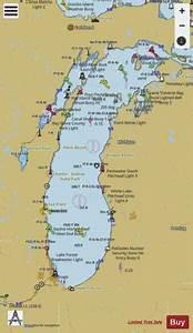 Lake Michigan Marine Chart Us14901 P1361 Nautical