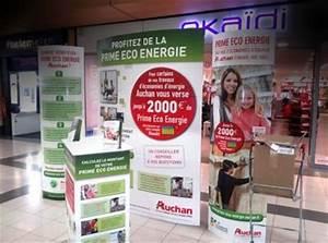 Prime éco énergie Auchan : agence la prod par 3 retail marketing animations ~ Dode.kayakingforconservation.com Idées de Décoration