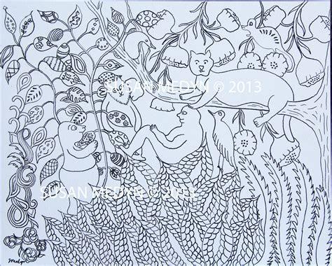 Henri Rousseau Coloring Pages - Eskayalitim
