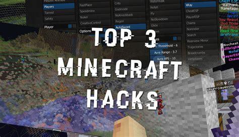 to hack minecraft