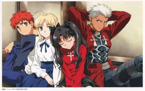 fatestay night shirou saber rin  archer misc