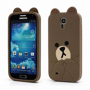 Cute Brown Bear Galaxy S4 Case - Kawaii Case