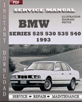 automotive service manuals 1993 bmw 5 series free book repair manuals bmw 5 series 525 530 535 540 1993 digital service repair manual download service repair manual