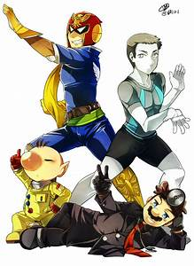 Captain Falcon, Wii Fit Trainer, Olimar and Dr. Mario ...
