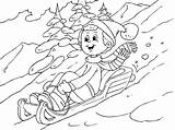 Coloring Winter Pages Tobogganing Coloringpages4u However Rain Enter Snow Expanding Experience Want Fun sketch template