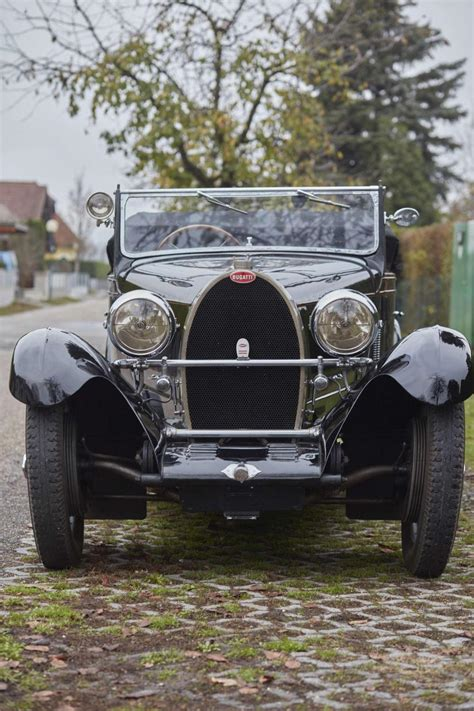 This bugatti 44 has therefore been in his ownership for more than 27 years! 1929 Bugatti Type 44 Roadster par Frugier