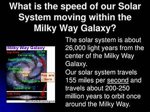 PPT - Unit 3 The Physics of Astronomy: How Motion Affects ...