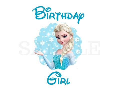 happy family iron board frozen frozen happy birthday clipart cliparts suggest