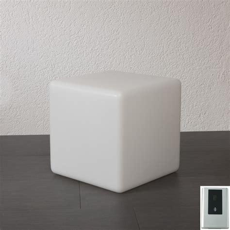 gartenlampe aussenlampe cube mit daemmerungsschalter