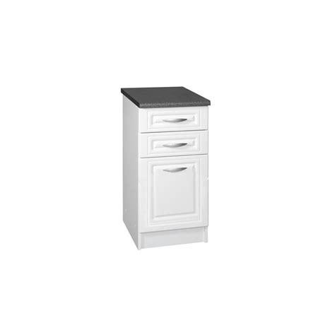 meuble bas cuisine 3 tiroirs meuble bas de cuisine dina 50 cm 3 tiroirs moulures mdf